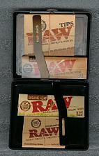 Buy CIGARETTE CASE+RAW 1 1/4 CLASSIC+ORGANIC Rolling paper+PREROLLED TIPS+HYDROSTONE