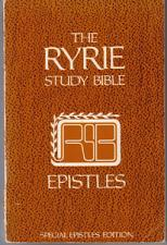 Buy The RYRIE Study Bible SPECIAL EPISTLES EDITION :: 1976