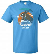 Buy The Neighbors Journey Unisex T-Shirt Pop Culture Graphic Tee (L/Pacific Blue) Humor F