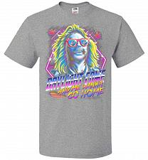 Buy Beetlejuice 80s Nostalgia Adult Unisex T-Shirt Pop Culture Graphic Tee (M/Athletic He