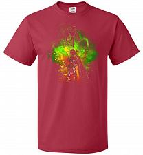 Buy Mandalore Art Unisex T-Shirt Pop Culture Graphic Tee (M/True Red) Humor Funny Nerdy G