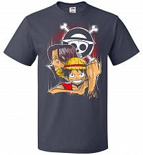 Buy Pirate King Unisex T-Shirt Pop Culture Graphic Tee (2XL/J Navy) Humor Funny Nerdy Gee