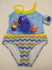 Buy DISNEY FINDING DORY GIRLS Tankini Set Swimwear Size 6/6X Halter Top Spaghetti St