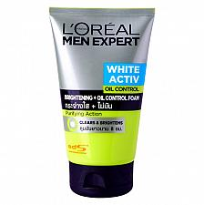 Buy L'Oreal Men Expert White Activ Bright Oil Control Whitening Foam 100ml 3.4oz