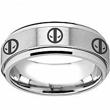 Buy coi Jewelry Titanium DeadPool Wedding Band Ring