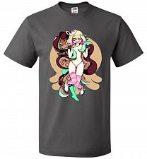 Buy Pearl And Marina Unisex T-Shirt Pop Culture Graphic Tee (3XL/Charcoal Grey) Humor Fun