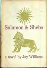 Buy Solomon & Sheba :: Jay Williams novel :: 1959 HB w/ DJ :: FREE Shipping
