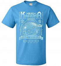 Buy Big Kahuna Burger Adult Unisex T-Shirt Pop Culture Graphic Tee (S/Pacific Blue) Humor