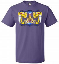 Buy Yellow Ranger Unisex T-Shirt Pop Culture Graphic Tee (XL/Purple) Humor Funny Nerdy Ge