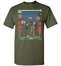 Buy Winchester Bros For Hire Unisex T-Shirt Pop Culture Graphic Tee (5XL/Military Green)