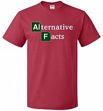 Buy Alternative Chemical Symbol Unisex T-Shirt Pop Culture Graphic Tee (6XL/True Red) Hum