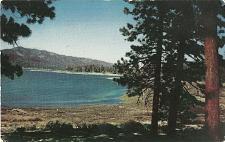 Buy Big Bear Lake San Bernadino Mountains California Postcard