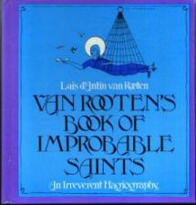 Buy VAN ROOTEN'S BOOK OF IMPROBABLE SAINTS :: 1975 HB :: FREE Shipping