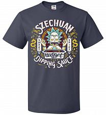 Buy Rick And Morty Szechuan Nugget Dipping Sauce Unisex T-Shirt Pop Culture Graphic Tee (