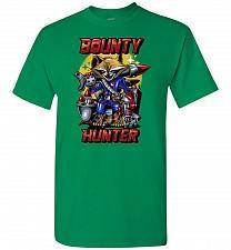 Buy Bounty Hunter Rocket Raccoon Unisex T-Shirt Pop Culture Graphic Tee (3XL/Turf Green)