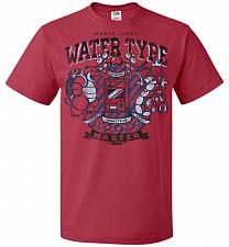 Buy Water Type Champ Pokemon Unisex T-Shirt Pop Culture Graphic Tee (5XL/True Red) Humor