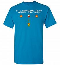 Buy It's Dangerous To Go Alone! Classic Zelda Unisex T-Shirt Pop Culture Graphic Tee (3XL