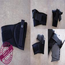 Buy Concealed Carry, Black Ankle Holster Compact And Sub Compact Pistols