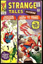 Buy Strange Tales #133 Dr. Strange: Ditko; Torch / Thing by Powell 1965 Stan Lee