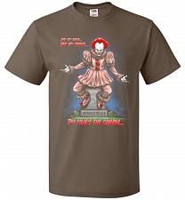 Buy Pennywise The Dancing Clown Adult Unisex T-Shirt Pop Culture Graphic Tee (S/Chocolate