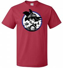 Buy Saiyan Quest Unisex T-Shirt Pop Culture Graphic Tee (M/True Red) Humor Funny Nerdy Ge
