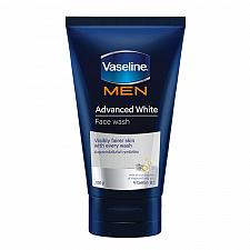Buy Vaseline Men Advanced White Face Wash for Visibly Fairer Skin 100 grams