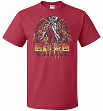 Buy Back To Japan Unisex T-Shirt Pop Culture Graphic Tee (XL/True Red) Humor Funny Nerdy
