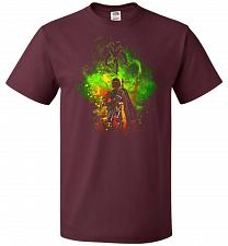 Buy Mandalore Art Unisex T-Shirt Pop Culture Graphic Tee (5XL/Maroon) Humor Funny Nerdy G