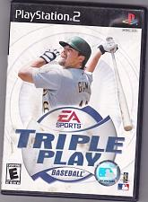 Buy Triple Play Baseball - PlayStation 2, 2001 Video Game - COMPLETE - Good