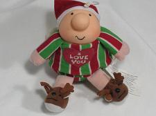 Buy Vintage ZIGGY Doll Plush Toy I Love You Christmas Elf Collectible Reindeer