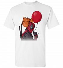 Buy IT is Deadpool Unisex T-Shirt Pop Culture Graphic Tee (L/White) Humor Funny Nerdy Gee