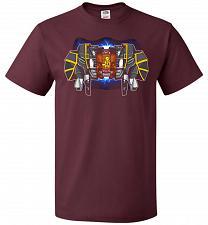 Buy Black Ranger Unisex T-Shirt Pop Culture Graphic Tee (4XL/Maroon) Humor Funny Nerdy Ge