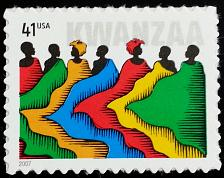 Buy 2007 41c Kwanzaa, Holiday Celebration Scott 4220 Mint F/VF NH