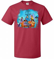 Buy Super Friends Unisex T-Shirt Pop Culture Graphic Tee (6XL/True Red) Humor Funny Nerdy