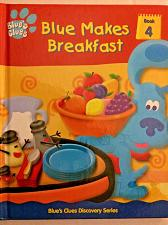 Buy BLUE'S CLUES Blue Makes Breakfast Book 4 of Discovery Series Hard Cover 2000