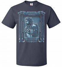 Buy Jon Snow King Of The North Adult Unisex T-Shirt Pop Culture Graphic Tee (5XL/J Navy)