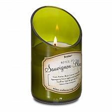 Buy :10627U - Wine Bottle Green Sauvignon Blanc Scented Soy Blend Wax Candle