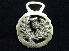 Buy Antique Vintage Horse Brass Decorative Tack Bridle Thistle