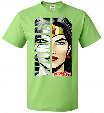 Buy Wonder Woman Youth Unisex T-Shirt Pop Culture Graphic Tee (Youth XL/Kiwi) Humor Funny