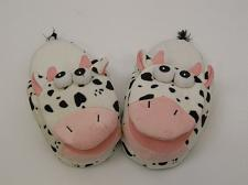 Buy Children Slippers SIZE S Girls Boys Adults Kids Children SPOTTED COW Slippers