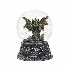 """Buy *18452U - Green Dragon Figure 4"""" Tall Water Globe"""