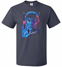 Buy Live Long And Prosper Unisex T-Shirt Pop Culture Graphic Tee (6XL/J Navy) Humor Funny