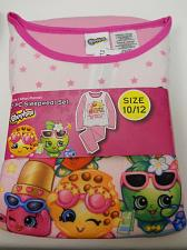 Buy Pajama Set Girls 2PC Flannel SHOPKINS Pink Size 10/12 Scoop Neck Long Sleeves