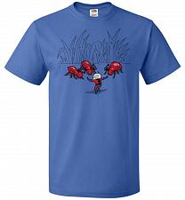 Buy Ant Training Unisex T-Shirt Pop Culture Graphic Tee (3XL/Royal) Humor Funny Nerdy Gee