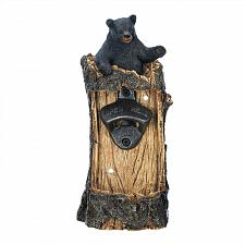 Buy *18195U - Black Bear Wall-Mounted Bottle Opener