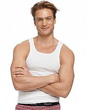 Buy 10 Hanes Men's TAGLESS ComfortSoft White A-Shirt Tank #372P5B szs 2XL & 3XL