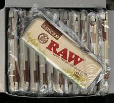 Buy 12 X RAW 1 1/4 size ORGANIC HEMP Rolling Paper Pack Metal Storage Cases tins