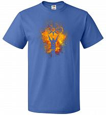 Buy Praise The Sun Art Unisex T-Shirt Pop Culture Graphic Tee (M/Royal) Humor Funny Nerdy