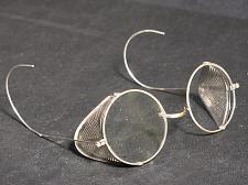 Buy Vintage Steampunk Safety Glasses Sideshield Biker Motorcycle Goggles Ratrod