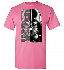 Buy Vader Unisex T-Shirt Pop Culture Graphic Tee (L/Azalea) Humor Funny Nerdy Geeky Shirt